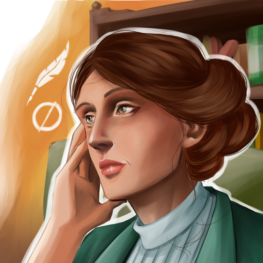 la moderna Virginia Woolf