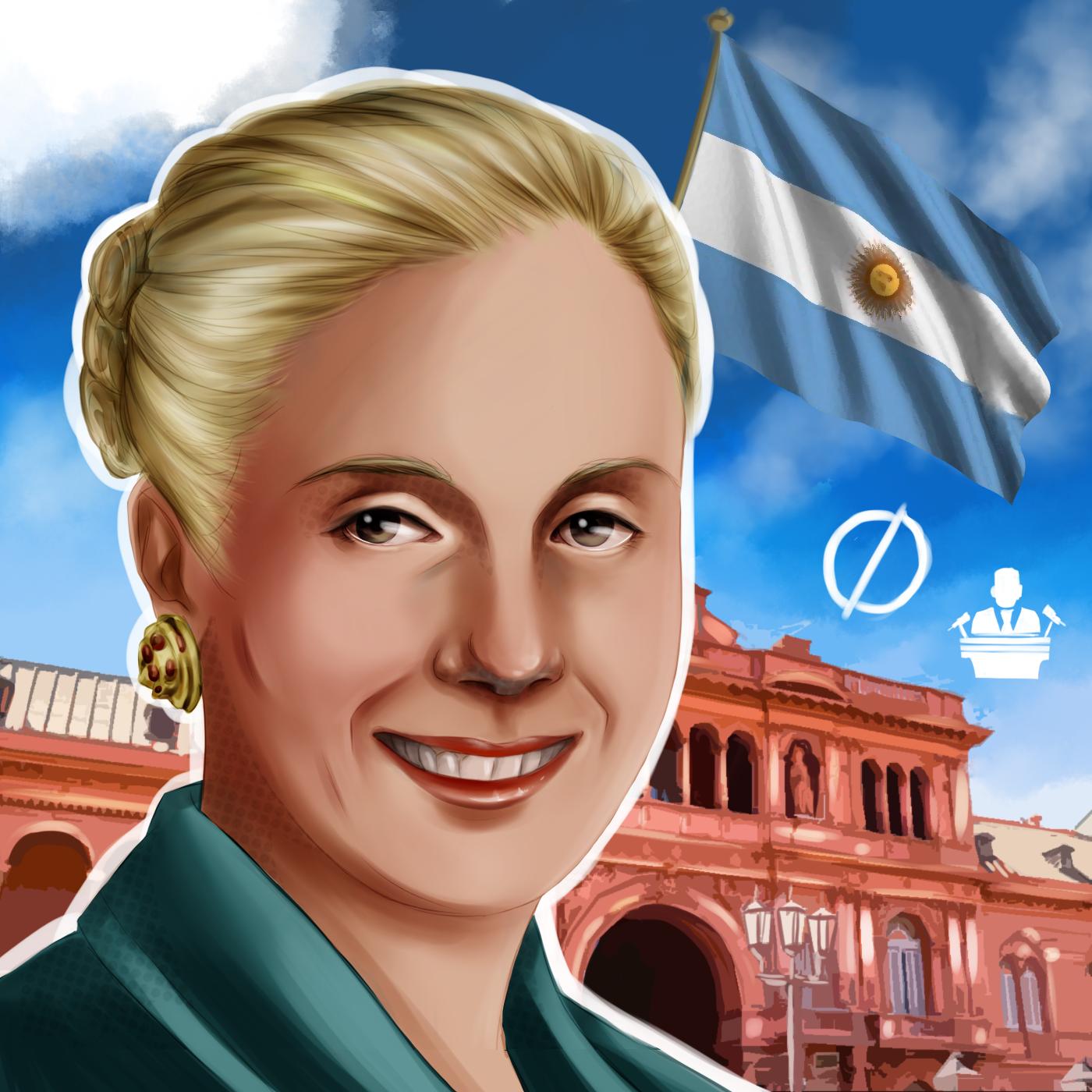 la passionale idealista Evita Perón