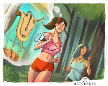 1. Immagine sull'ispirazione di artgender