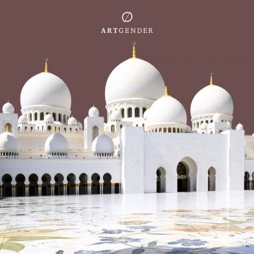 The Sheikh Zayed Mosque architecture