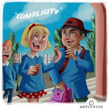 Illustrazione sulla complicità