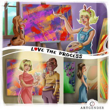 Illustrazione sul processo