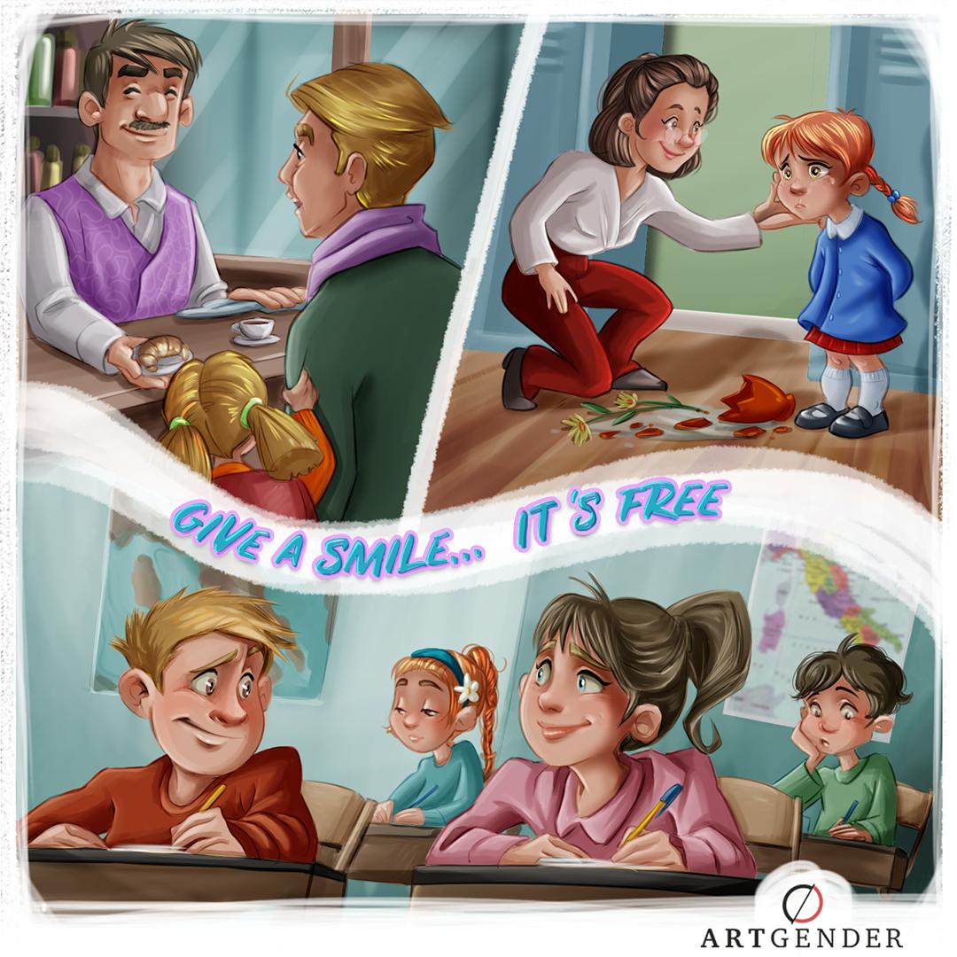 Illustrazione sulla donare