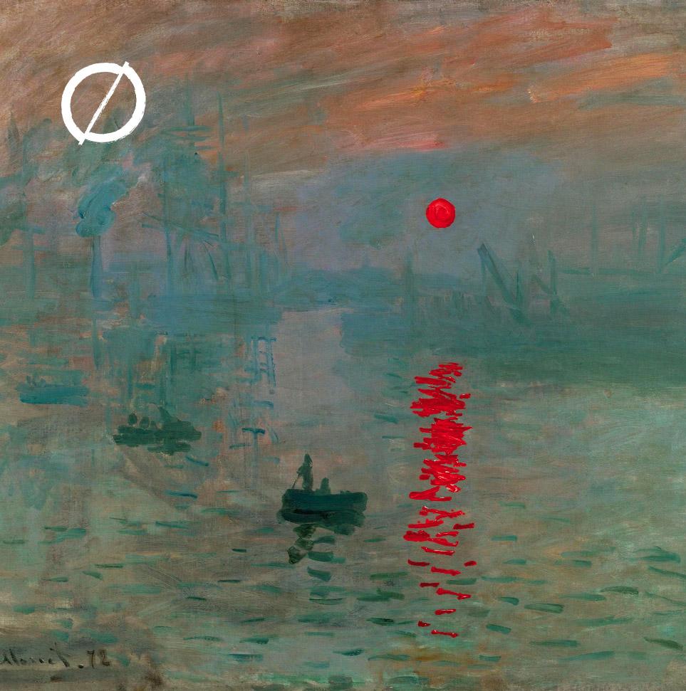 impression sunrise by monet