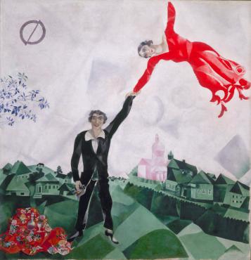 the walk chagall